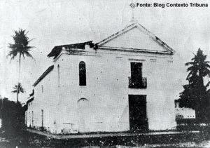 Foto antiga da Capela São Gonçalo