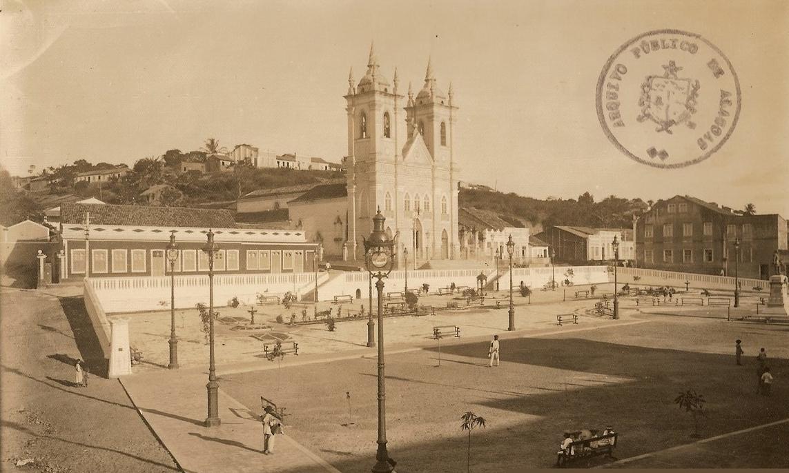 Foto antiga da Igreja dos Martírios